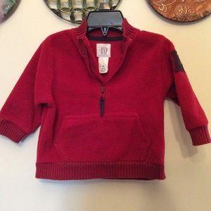 GAPbaby polarfleece pullover zipfront 🥰 L 12-18m